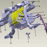 关于L3000车型驾驶室空调专用件介绍