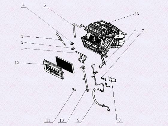 X5000空调组件