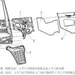 关于X5000车型驾驶室车门附件知识介绍