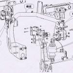 关于驾驶室后悬置部分配件知识介绍